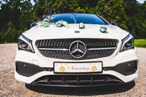 Mercedes CLA do ślubu