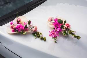 Dekoracja kwiaciarni Renee