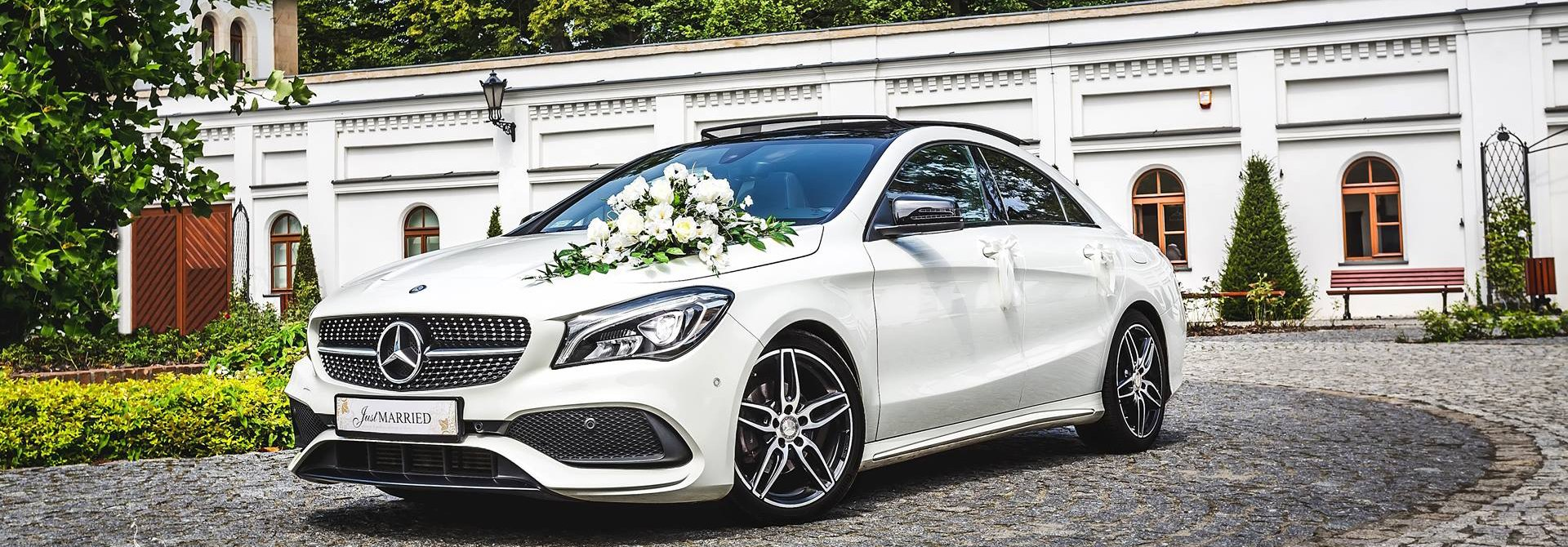 Auto do ślubu - Mercedes CLA