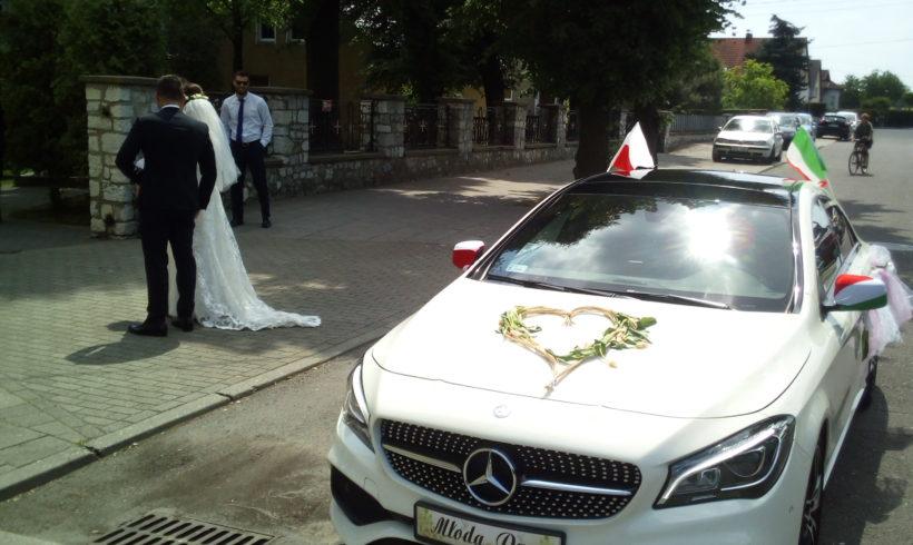 Mercedes z Młodą Parą w Rybniku