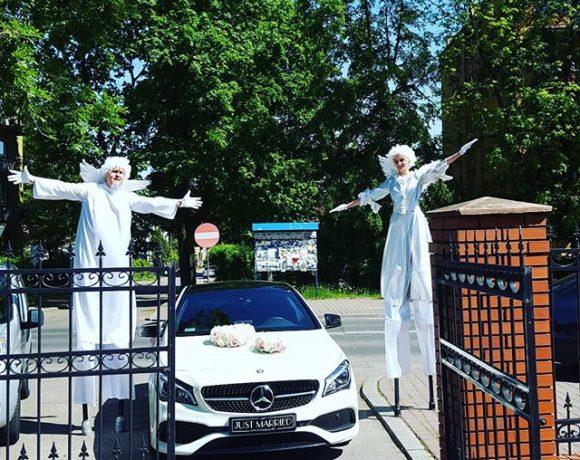 Mercedes do ślubu z Bielska-Białej