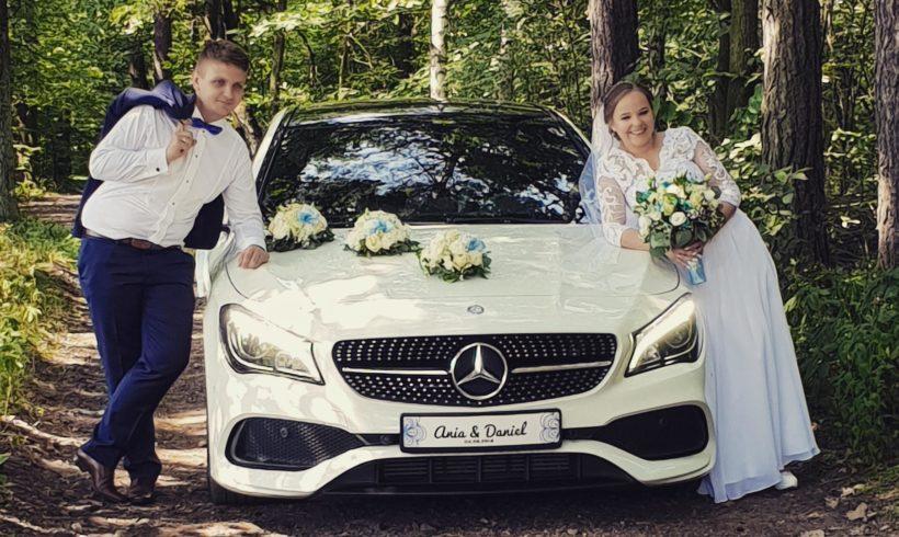 Sesja z limuzyną w trakcie wesela w Tychach