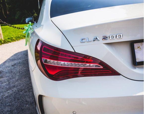 Mercedes CLA do ślubu