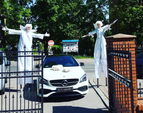 Anioły i Mercedes do ślubu