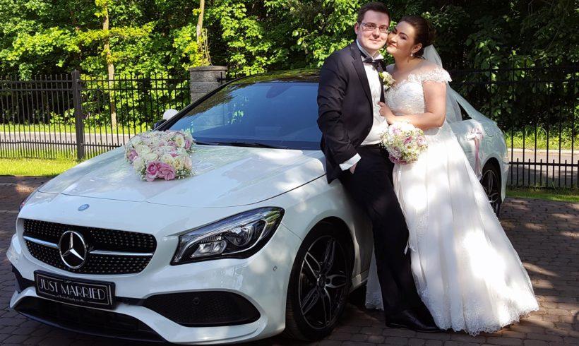 Nowożeńcy na sesji