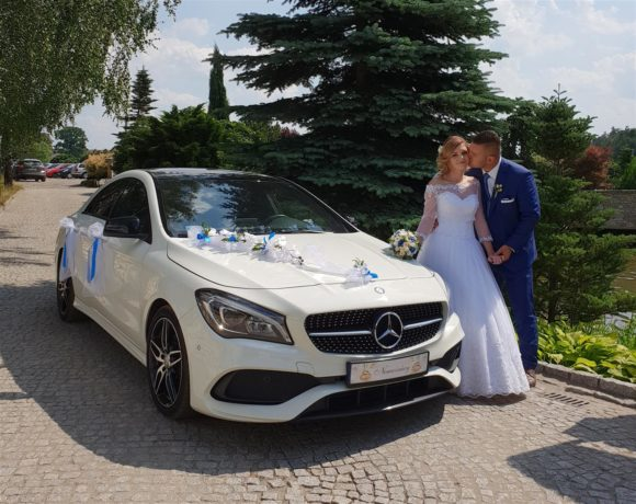 Mercedes i Nowożeńcy w plenerze