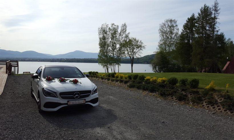 Mercedes do ślubu w Żywcu